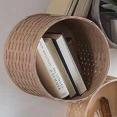 Longaberger WOVEN™ COLLECTION Venti Round Wall Cubby Basket  **NEW**