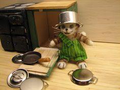 Mine dukkehuse: Findus og Peddersen laver køkken 2 - Findus and Pe...