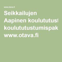 Seikkailujen Aapinen koulututustumispaketti www.otava.fi School, Kids, Young Children, Boys, Children, Schools, Kid, Children's Comics, Child
