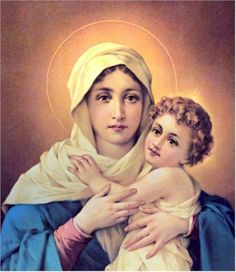 An Infant Jesus with Our Lady