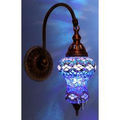 Trecos Turcos: Luminárias em Mosáico - Handmade!!!