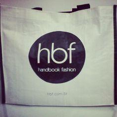 Sacola da #hbf fotografada pela @laraatoledo no instagram #hbf #handbook #fashion