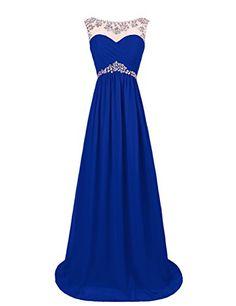 Dresstells® Long Chiffon Prom Dress with Beadings Wedding Dress Maxi Dress Bridesmaid Dress Dresstells http://www.amazon.co.uk/dp/B00OHGD91U/ref=cm_sw_r_pi_dp_zTiGwb1WHCD2W