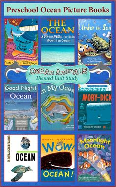 Check out the newest post Picture Books About The Ocean Ocean Animals Unit Study on 3 Boys and a Dog