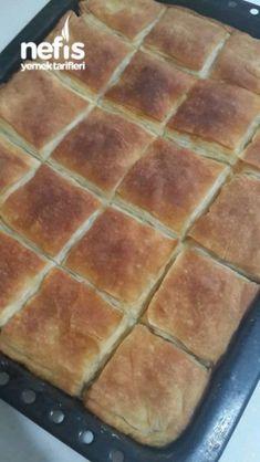 Baklava Börek (Çıtır Çıtır) – Nefis Yemek Tarifleri Turkish Recipes, Griddle Pan, Brunch, Food And Drink, Appetizers, Kitchen, Desserts, Foods, Losing Weight