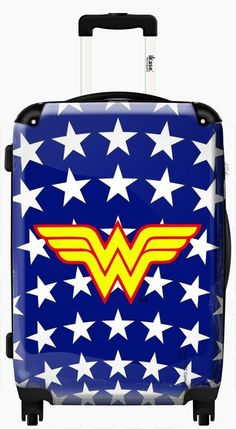 Comics suitcase Wonder woman white stars ,Carry on 20 inches,Harside Spinner / Default, Multicolor Wonder Woman Outfit, Wonder Woman Party, Wonder Woman Cosplay, Global Warming Issues, Wonder Woman Quotes, Women's Suitcases, Female Profile, Warrior Princess, Badass Women