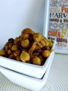 Simple Moroccan Chickpeas | www.pinkrecipebox.com