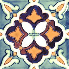 ECOCERAMIC Dekor GUADIANA Decoro Geometrico