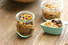 Homemade Granola that you can customize to your liking.  It's delicious!  http://aredbinder.com/2017/09/a-homemade-granola.html