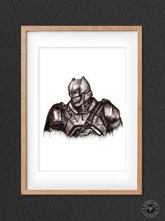 """""""Batman Print"""" by Aguirre Firth Illustration    SHOP:  www.aguirrefirth.com  Follow on:  Instagram: www.instagram.com/aguirrefirth Twitter: www.twitter.com/aguirrefirth Dc Comics, Batman, Fan Art, Ink, Superhero, Deco, Twitter, Drawings, Illustration"""