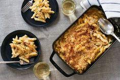 Truffled, Mustardy Mac & Cheese Recipe on Food52, a recipe on Food52 Mac Cheese Recipes, Baked Pasta Recipes, Mac And Cheese, Cooking Recipes, Cooking Tips, Food52 Recipes, Pasta Recipies, Crockpot Recipes, Cheesy Pasta Bake