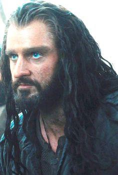 Thorin Intense eyes   Thorin is Richard Armitage  in  The Hobbit: The Desolation of Smaug El Hobbit Movie 2013