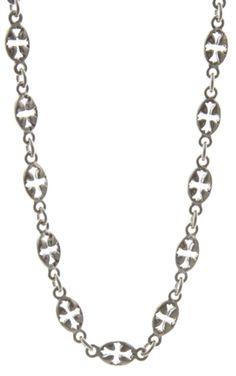 Maltese Cross Chain Necklace