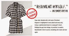 OASAP Giveaway- Win Yourself A Super Stylish Cape Coat [International Giveaway] Cape Coat, Autumn Inspiration, Keep Warm, Houndstooth, Trendy Fashion, Pattern, Blog, Giveaways, Shopping