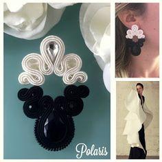 Veronique Creazioni Shibori, Soutache Earrings, Macrame Bracelets, Diy And Crafts, Brooch, Embroidery, Knitting, Handmade, Inspiration