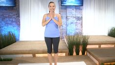 In this Healing Yoga Webisode, Deborah walks us through the Half Sun Salutation and Warriors Pose, to help get blood circulating and ease general aches and pains.