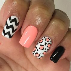 | #NailsbyLONG #chevron#leopardprint#outterspace acrylic#perfectmatch#gelpolish#nailart#naildesigns#notd#nailsoftheday#nails#nailofinstagram#nailgenius#nailprodigy#nailjunkie#nailfashion#naildesignmiramar#nailartfreak#theglamourhouse#nailpost#scra2ch#naillovers by nail_cessity