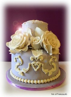 #cake#design#flower#rose Rose&Rose cake
