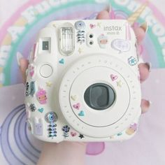 My Fujifilm Instax Mini 8 - Instax Camera - ideas of Instax Camera. Trending Instax Camera for sales. - My Fujifilm Instax Mini 8 Polaroid Camera Case, Polaroid Instax Mini, Cute Camera, Fujifilm Instax Mini 8, Camera Art, Instax Mini Ideas, Tout Rose, Polaroid Pictures, Belle Photo
