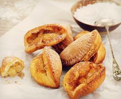 music to my ears! Fried Apple Pies, Fried Pies, Just Desserts, Delicious Desserts, Dessert Recipes, Pie Pops, Food & Wine Magazine, How To Cook Asparagus, Apple Pie Recipes
