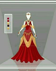 royal dress fire nation.