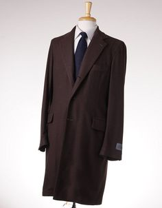 NWT $2395 BELVEST Chocolate Unstructured Cashmere Overcoat 40 R (Eu 50) Coat