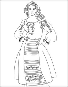 Nicole& Free Coloring Pages Floral Fashion, Colorful Fashion, Free Coloring Pages, Coloring Books, Drawing Sketches, Drawings, Abc For Kids, Embroidery Transfers, Floral Theme