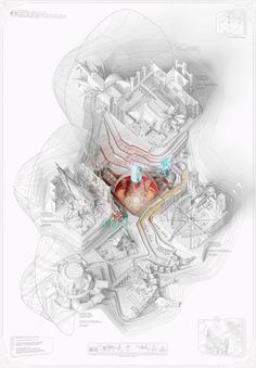 AA School of Architecture 2015 - Yah-chuen-shen Architecture Graphics, Architecture Drawings, Architecture Portfolio, Architecture Design, Aa School, Axonometric Drawing, Concept Diagram, Architecture Visualization, 3d Max