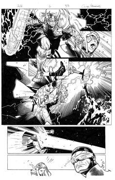 avengers vs x-men 6 pg 33 by MarkMorales.deviantart.com on @deviantART