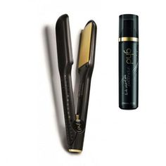 Buy ghd Max Styler with Heat Protect Spray Duo :: Free Delivery Ghd Hair Straightener, Good Hair Day, Cool Hairstyles, Gold, Fancy Hairstyles, Yellow