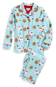 NWT PJ Salvage LOT 2 PAIRS White ELEPHANTS//Aqua Blue DOTS Pajama//Lounge SHORTS L