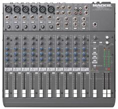 For the BuZZ I use the Mackie 1402-VLZ Pro mixer.