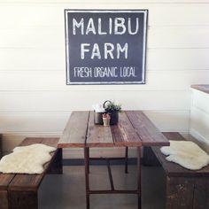 My new favorite breakfast spot. (at Malibu Farm Cafe)
