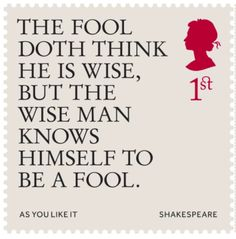 New Shakespeare stamps feature quotes from The Bard