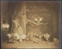 """""""Chantecler"""" theater still (1911), gelatin silver print (©The New York Public Library, via Museum of the City of New York)"""