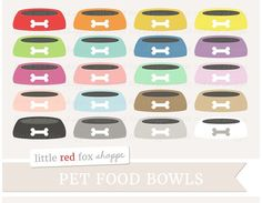Pet Food Bowl Clipar