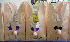 brown paper bag bunnies
