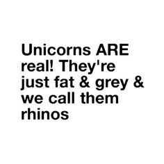 unicorn quote - by olivia! ❤ liked on Polyvore