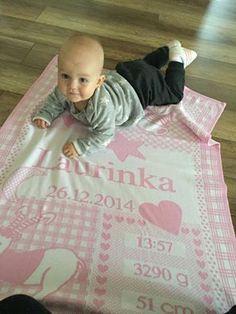 Deka s menom a udajmi o narodeni dietatka ;) e-shop www.babygift.sk