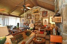 """Frank Sinatra's old """"Villa Maggio"""" party pad in Mountain Center, California"""