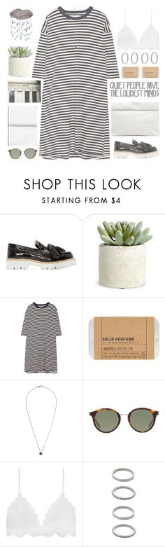 """""""Untitled #624"""" by chantellehofland ❤ liked on Polyvore featuring MSGM, Allstate Floral, The Great, Le Labo, Yves Saint Laurent, Forever 21 and Marie Turnor"""
