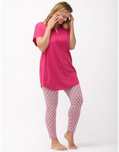Printed legging PJ set by Cacique  fcce95ac9