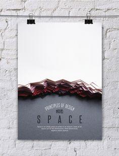Paper Art: Principle of Design Poster Series - JOQUZ