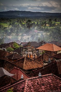 Indonesia. I'd like to go back and see more of Indonesia, I've only been to Bali but I need to go again and explore!
