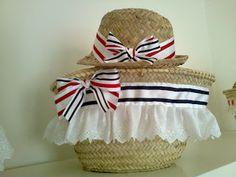 EL TALLER DE MARIA SUANZES Mode Simple, Basket Liners, Arts And Crafts, Diy Crafts, Paper Basket, Crochet Purses, New Bag, Coffin, Straw Bag