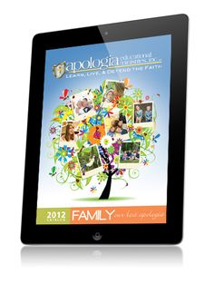 The Apologia Educational Ministries 2012 catalog mobile app created with Mag+