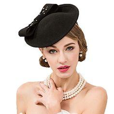 020b91811649c Ladies Elegant Pillbox Hat Wedding Tea Party Church Wool ... https