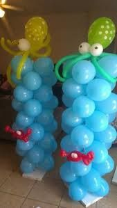bubble guppies birthday party ideas - Google Search. lol lets see if i can remember how to make balloon animals