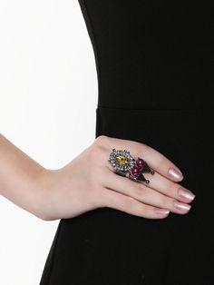 Pyramid Pearl Ring Check more at http://www.beautyscoopindia.com/pyramid-pearl-ring/