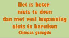 Chinees gezegde